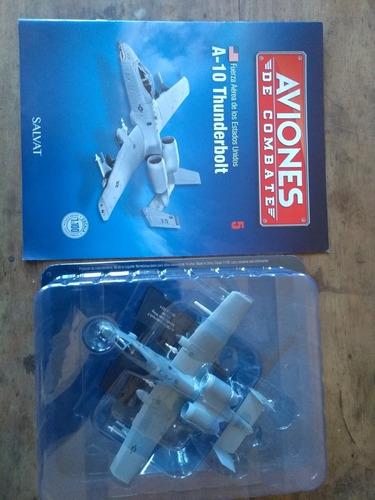 Aviones De Combate Salvat Mx #5 A-10 Thunderbolt
