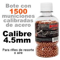 Balines 4.5 Para Rifle Mendoza Crosman Gamo