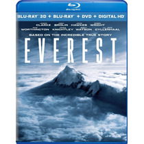 Everest 3d - Bluray 3d + Dvd Importado Usa Jake Gyllenhaal