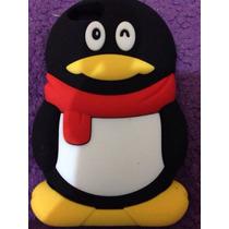 Hermosa Funda De Pingüino Para Iphone 4/4s