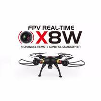 Drone Syma X8w Fpv Camara 2mp 6 Axis 2.4ghz