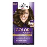 Tinte Palette Color Creme 6-60 Chocolate Oro