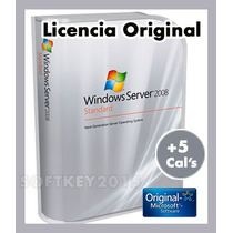 Windows Server 2008 Standard Retail Mas 5 Cals