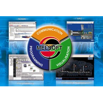 Plc Mitsubishi Melsoft Iq Works Gt Works 3 Envio Gratis
