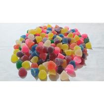 Gomitas En Forma De Gota Dulces Diferentes Colores Y Sabores