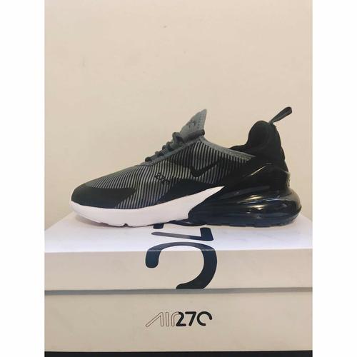 0ec3a7c2b Tenis Nike Air Max 270 Negro Con Gris Para Caballero en venta en ...