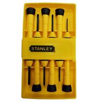 Desarmadores De Precision Juego C/6 Piezas Stanley