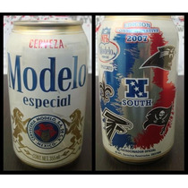 Nfl Edicion Conmemorariv 2007 South Cerveza Modelo Changoosx