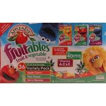Jugo De Manzana Y Eva Fruitables Bebidas 36 Variety Pack