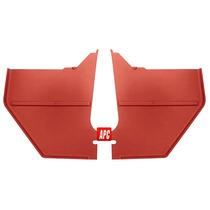 65-66 Mustang Par Paneles Interiores Laterales Color Rojo