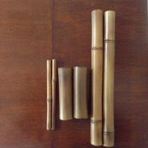 Kit De Masaje Elaborado De Bambu