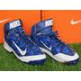 Spike Nike Air Huarache Camo Promid Metal Azul 8.5mx -10.5us