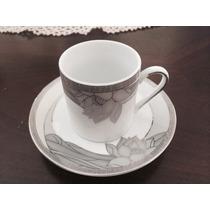 Hermosa Taza De Porcelana Japonesa En Oro De 24 Kt