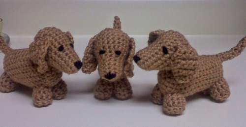 AMIGURUMI PATTERN/ tutorial (English) Amigurumi Dachshund Dog ... | 258x500
