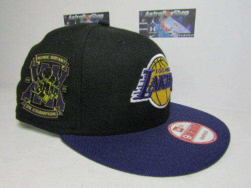 a907328802304 Gorra New Era Lakers Kobe Bryant 5x Champs Limited Edition