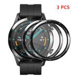 3 Piezas Mica Protectora 3d Hd Para Huawei Watch Gt2 De 46mm