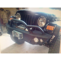 Defensa Jeep Tj Cj Yj 4x4 Base Winch