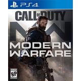 Juegos Playstation Ps4 Call Of Duty Modern Warfare 2019  /u