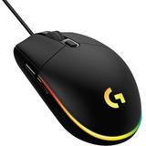 Mouse Logitech G203 Iluminación Rgb Lightsync 8000 Dpi