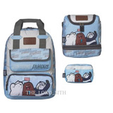 We Bare Bears Kit De Mochila Los Osos Escandalosos 3pz