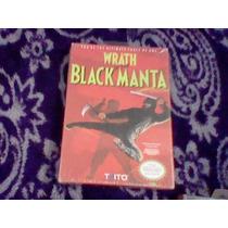 Wrath Of The Black Manta Nuevo Sellado Nes Nintendo