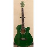 Guitarra Electroacustica Mccartney Maquinaria Metalica/funda