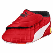Baby Tenis Puma Drif Cat 6 Ferrari Red & White Bebe Cuna Gym