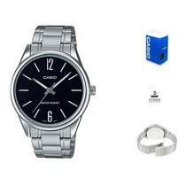 Reloj Casio Mtpv005 Hombre Acero *watchsalas* Full en venta