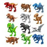 Dinosaurios Tipo Lego Set 12 Pzs Jurassic World Serie 5