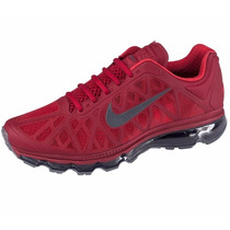 Tenis Nike Air Max 2011 Rojos Hombre Original $3049