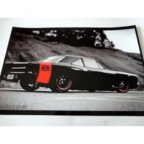 Colección 6 Posters Imagenes Reproduccion Auto Dodge Charger