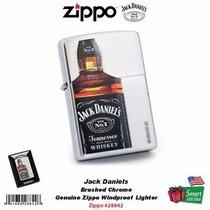 Encendedor Zippo Jack Daniels Botella Cromo