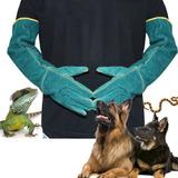 2 Guantes De Protección Anti Mordedura Para Perros Y Gatos.