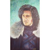 Pintura Jon Snow Game Of Thrones Kit Harington