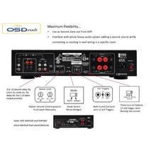 Amplificador De Poder Osd Audio Amp300 2-channel Dual-source