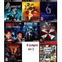Pack Resident Evil 4,5,6,etc + Gta San Andreas En Españo Ps3