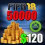 Fifa 18 Monedas Para Xbox One Ultimate Team Gran Oferta!!!