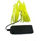 Led El Wire  Tira  Neón Flexible Dj  5m Luminoso Luz Neon