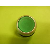 Botón Pulsador Iluminado Verde Retenido 6 Pzas Eaton