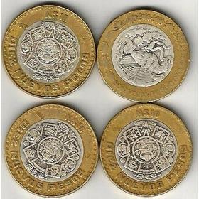 Moneda Bimetalica 10 Pesos 1993