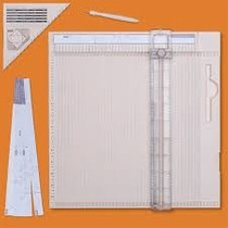 Scrapbook Tabla Dobleces Lujo Cortadora Martha Cajitas Papel