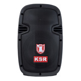 Bocina Kaiser Msa-7908bte Portátil Con Bluetooth Negra