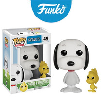Snoopy And Woodstoock Funko Pop Charlie Brown Original 2016