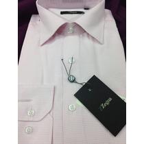 Bonita Camisa De Vestir Ermenegildo Zegna Para Caballero