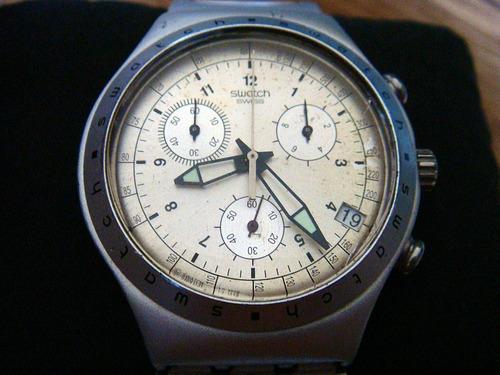 Irony AluminiumChronoSwiss Reloj Venta MadeEn Swatch pUzSVqM