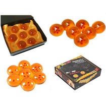 Tb Set New Dragonball Z Stars Crystal Glass Ball 7pz