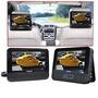 Increible Dvd Player Portatil Philips Cn 2 Pantallas Lcd Vrn