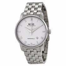 Reloj Mido Baroncelli Automático Acero Blanco M86004261