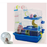 Jaula Para Hamster Fresno 2  Redkite + Esfera Grande 18 Cm