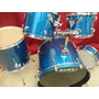 Bateria Mapex Shell Pack 5kit Fussion Blue Sparkle Nueva